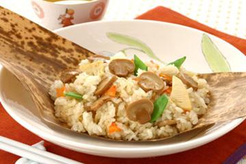 Pure mushroom slice chinese okowa